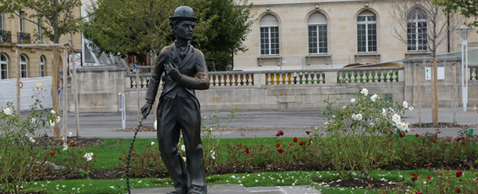 Standbeeld Charlie Chaplin