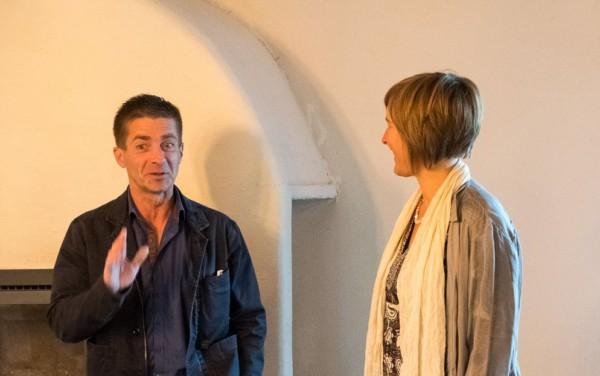 Koen in gesprek met Inge tijdens traject Sterk Leiderschap
