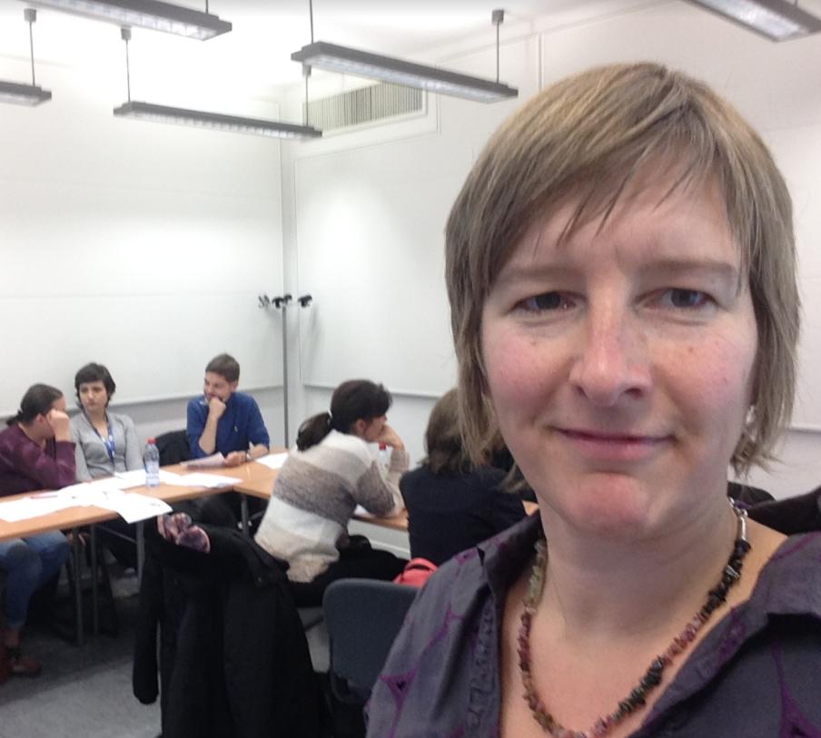 foto Inge Ketels van Bureau Stroom sterk leiderschap in EU Luxemburg