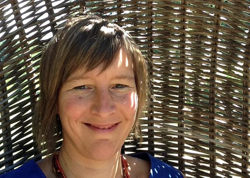 Inge Ketels in hangmand Hemelbrug Stroom in Business