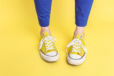 2 sneakers bij artikel in verband met imposter syndrome