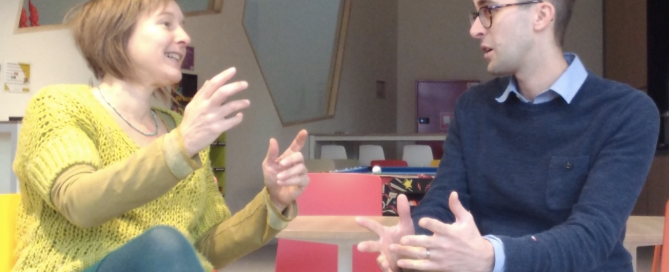 Inge Ketels Bureau Stroom en Jelle Wierdsma Groeimakers in gesprek voor artikel online marketing succes