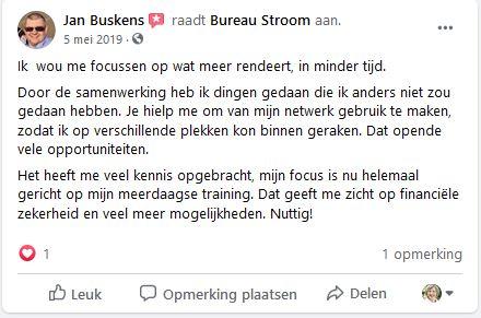 Jan Buskens over samenwerking Inge Ketels Bureau Stroom