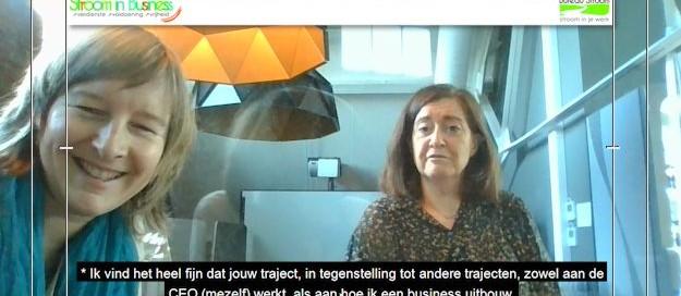 Sonja Tielen en Inge Ketels je traject helpt me zowel als CEO als hoe ik kan groeien als bedrijf